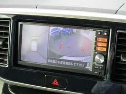 360度安心安全に車庫入れしていただけるアラウンドビューモニター装備!