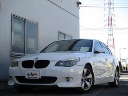 BMW 5シリーズ 530i Mスポーツパッケージ 黒革サンルーフ純正ナビBカメラ エアロPKG