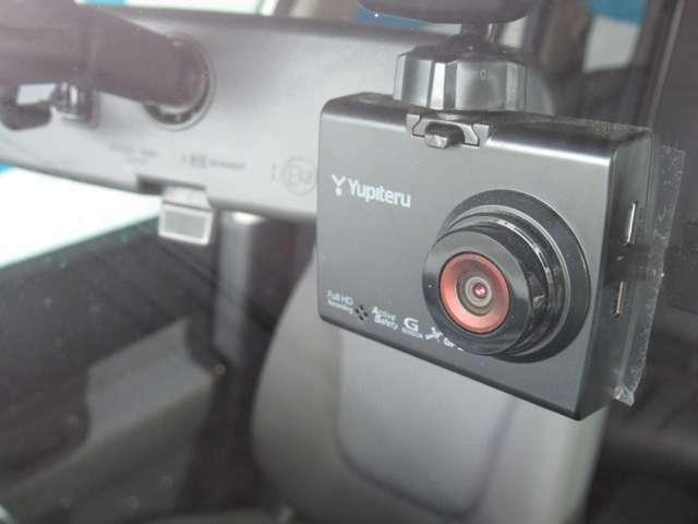 ユピテル製ドライブレコーダー付き。