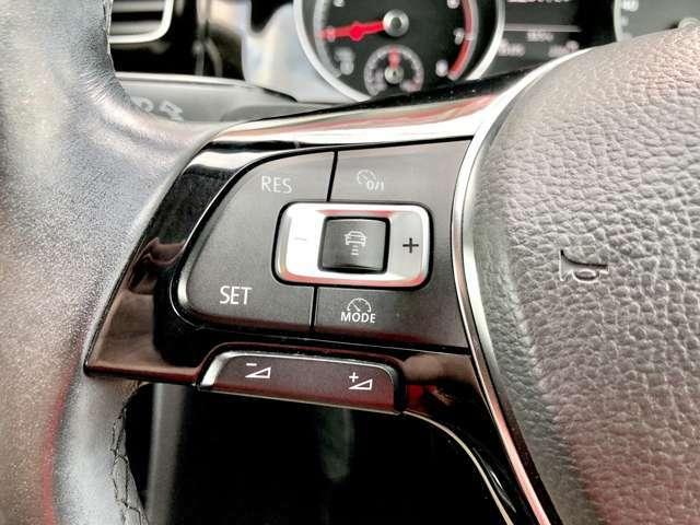 「アダプティブクルーズコントロール」 自動で車間距離を調整!長距離ドライブの強い味方!!