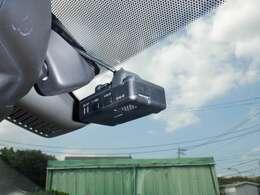 ドライブレコーダー:運転状況を映像と音で記録します。