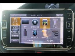ALPINEBIGX11型ナビを装備。フルセグTV、ブルートゥース接続、DVD再生可能、音楽の録音も可能です。