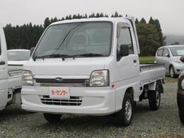 スバル サンバートラック 660 TB 三方開 4WD エアコン パワステ 5速マニュアル