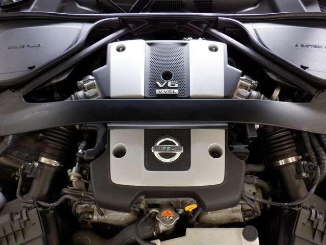 VQ37VHRエンジン搭載247kW(336PS)/7,000rpm