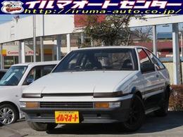 トヨタ スプリンタートレノハッチバック 1.6 GTアペックス 後期型 AE86トレノ ブラックR14AW付