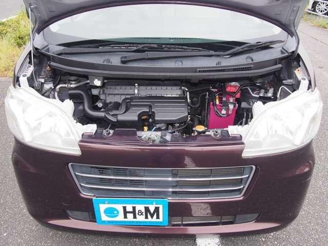 タイミングチェーンエンジンなのでオイル交換を欠かさず定期的なメンテナンスで長持ちしますよ。このエンジンはお買い得ですね。