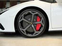 Red caliper / Tire Pressure Monitoring System(TPMS)