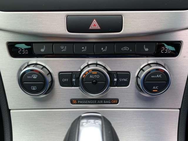 オートエアコンをはじめ、ハイラインにはシートヒーターが装着されています。