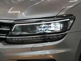 LEDヘッドライト(オートハイトコントロール機能/LEDポジションランプ/LEDターンシグナル付)☆関東最大級のAudi・VW専門店!豊富な専門知識・経験で納車後もサポートさせていただきます☆