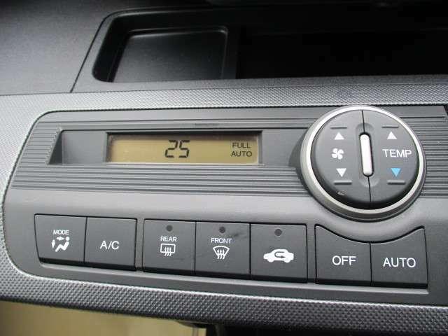 温度設定のしやすいエアコンが搭載されています!