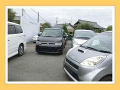 ワンボックスや軽自動車、輸入車など様々な車種に対応! 車種によっては当方にて引き取りも可能ですのでご相談ください。
