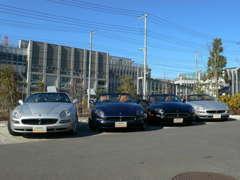 マセラティをはじめ、イタリア車を中心に取り扱うSHOPです。