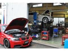 車検、修理など自社認証工場完備!!