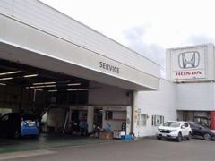 サービス工場も併設しています。車検・オイル交換などのメンテナンス、アフターサービスもお任せください!