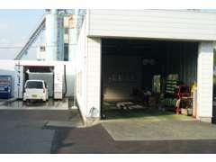 陸運局指定整備工場ですので、車検もOK、1日で大丈夫です。