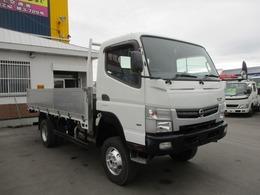 日産 NT450アトラス 3トン 4WD ワイドロング 高床 平ボディ アルミあおり