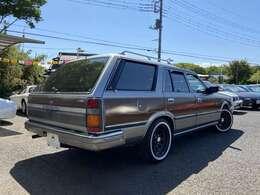 V6 2Lを搭載した日産の伝統的ステーションワゴン、グロリアワゴン!!VG20Eを搭載!!
