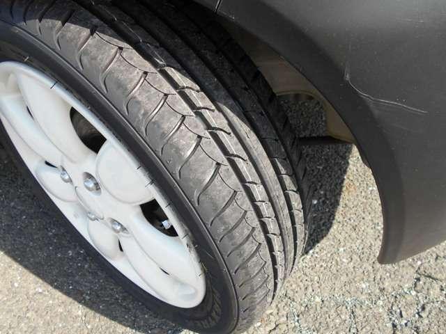 タイヤは新品です!!