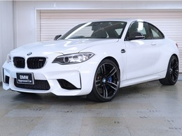 BMW M2クーペ M DCT ドライブロジック BMW認定中古車 カーボンミラー 黒革 19AW
