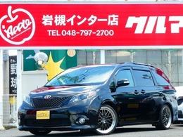 米国トヨタ シエナ 3.5 V6 SE 新車並行サンルーフ地デジナビ後席モニター