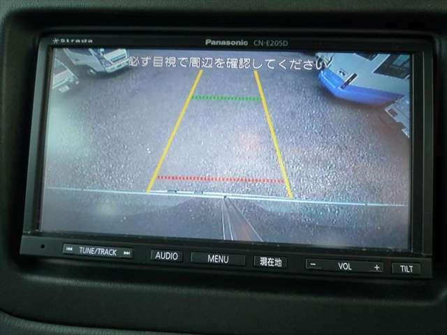 パナソニック ストラーダ  ナビ(CN-E205D)&バックカメラも装備されております!