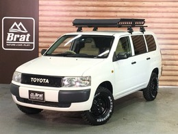 トヨタ プロボックスバン 1.5 DXコンフォートパッケージ 4WD #リフトアップ2インチ#新品マキシスタイヤ