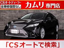 トヨタ カムリ 2.5 G レザーパッケージ 禁煙車/黒本革/新品スピンドルフェイス