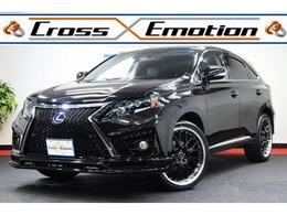 レクサス RXハイブリッド 450h プレミアムスピンドル仕様 黒本革シート