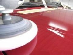 納車前のボディークリーニングもお任せ。ポリマーを越えた、「ガラスコーティング」も可能です!