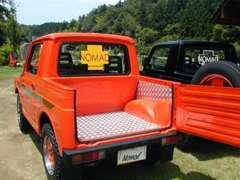 ジムニー(SJ30・JA71・JA11)のピックアップトラック製作します。加工後、公認車検もOK!