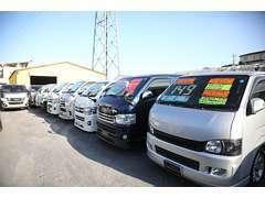 現車確認歓迎!多数の在庫からお客様にあった車両が見つかります!是非一度ご来店ください。(photo:第3展示場)