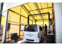 ハイエース&キャラバン専門店として創業以来数え切れない車両整備を行ってきた実績が御座います!的確な整備で納車致します。