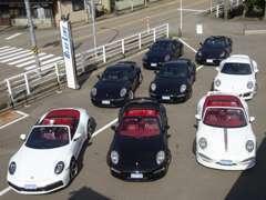 オープンカー多数展示中!試乗も可能です!外国車も幅広く揃えております!お気軽にお店に遊びに来てください!
