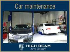整備、保証などアフターサービスも充実させております。大切なお車を安心して楽しんで頂きたいと考えています!