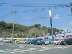 毎日フェアの気持ちで営業中!スズキの新車が勢揃い。おススメはスイフトスポーツ!安定した走りと燃費が人気の秘訣!