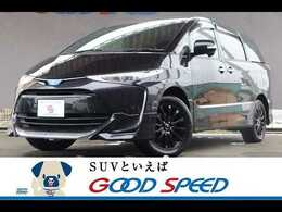 トヨタ エスティマハイブリッド 2.4 アエラス プレミアムG 4WD 4WD 後席モニター 純正ナビ 純正エアロ
