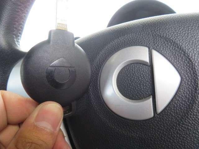 リモコンキーならボタン一つで簡単施錠!