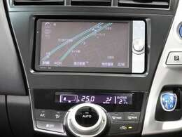 HDDナビゲーション(NHZN-W61G)を装備しており、CD、DVD、フルセグ視聴可能です。