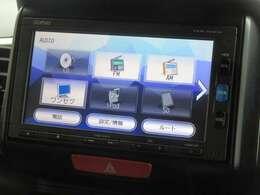 ナビゲーションはホンダ純正メモリーナビ VXM-164CSi が装着されております。AM、FM、CD、ワンセグTV、Bluetoothがご使用いただけます。初めて訪れた場所でも道に迷わず安心ですね!
