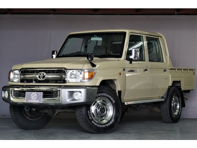 ランドクルーザー70ピックアップ4.0 4WD ワンオーナー車入庫しました。