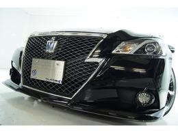 トヨタ クラウンアスリート ハイブリッド 2.5 S 新品バカンスフルエアロ新品アルミ新車高調