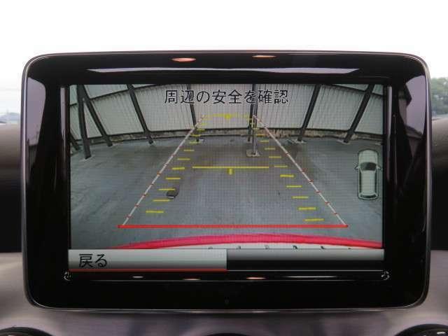 駐車時も安心☆バックカメラ!