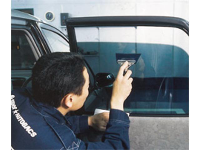 Aプラン画像:見た目だけではありません!日焼け防止や車内の色褪せ防止・空調効率のUP等、メリット盛りだくさん♪