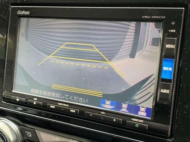 バックカメラも装備しております。車庫入れの苦手なお客様、もうご心配いりません。バックカメラがあれば、ぶつける心配無し?!重宝してくれると思いますよ^^