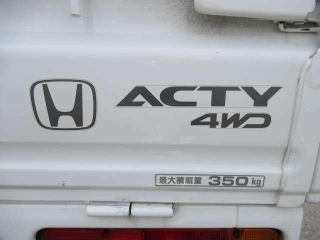 4WD車!