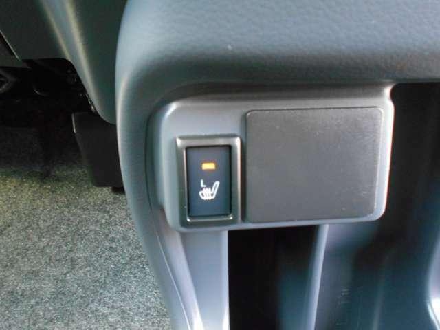シートヒーターは寒い日もすぐにシートを暖めてくれる快適装備です!