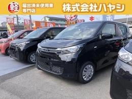三菱 eKワゴン 660 M 届出済未使用車 シートヒーター付き