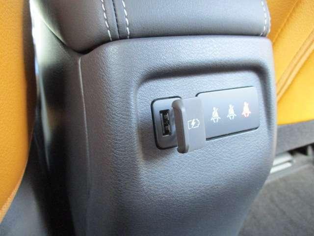 USBソケットも完備してますので、携帯の充電が無くなりそうなときも安心です。