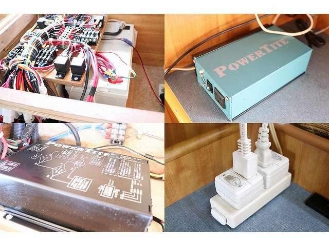 ツインサブバッテリー インバーター 外部充電