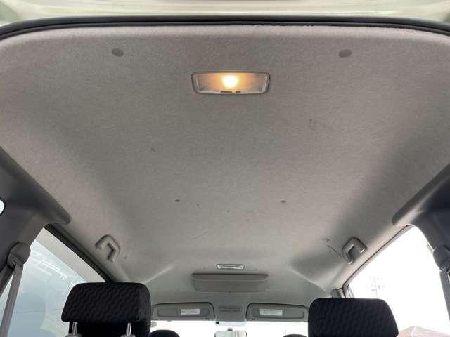 天井も黄ばみなどなくきれいです。